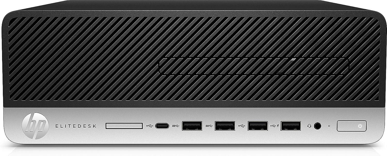 HP EliteDesk 705 G4 Desktop Computer - AMD Ryzen 7 PRO 2700-8 GB DDR4 SDRAM - 256 GB SSD - Windows 10 Pro 64-bit - Small Form Factor - AMD Radeon R7 430 2 GB Graphics - Intel Optane Memory Ready