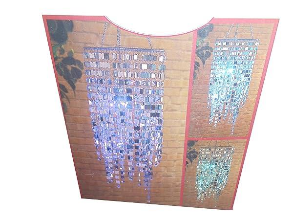 Indoor / Outdoor ~ LED Color Changing Gem Chandelier - - Amazon.com