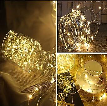 Led Lichterkette Weihnachtsdekor 20 Leds Draht Lichterketten Mit