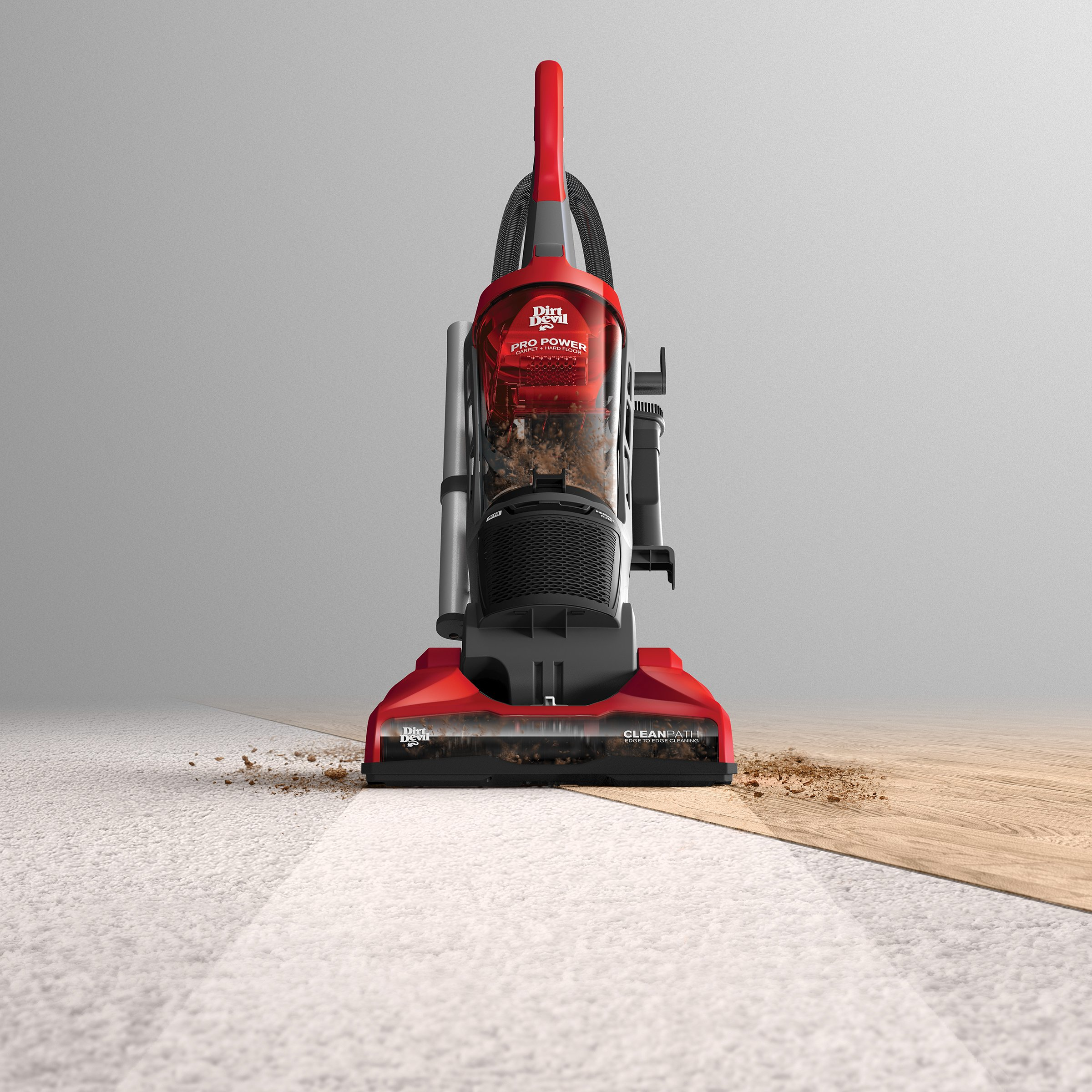 Dirt Devil Vacuum Cleaner Pro Power Bagless Corded Upright Vacuum UD70172 by Dirt Devil (Image #3)
