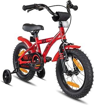 Prometheus vélo Enfant 14 Pouces pour garçons et Fille en Rouge et Noir à  partir de 02eef83411cd