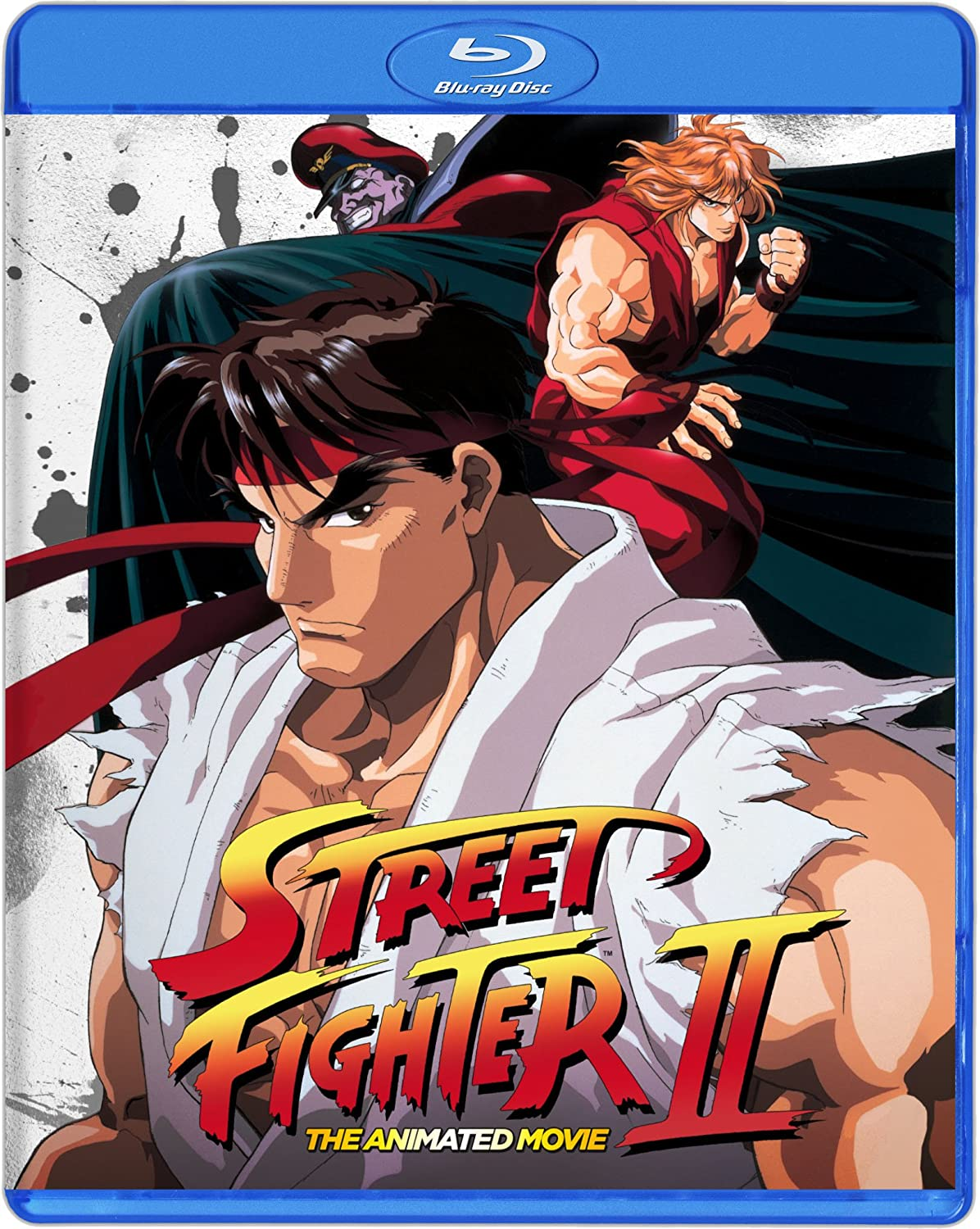 Street Fighter II The Animated Movie Blu Ray [Blu-ray]