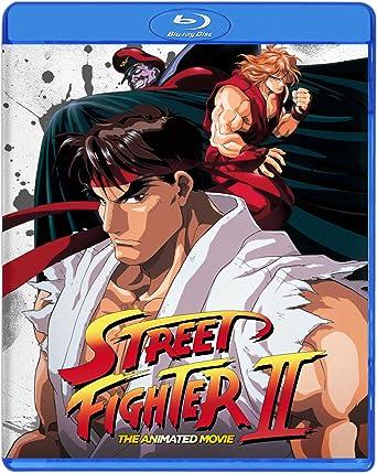 Amazon.com: Street Fighter II The Animated Movie Blu Ray ...