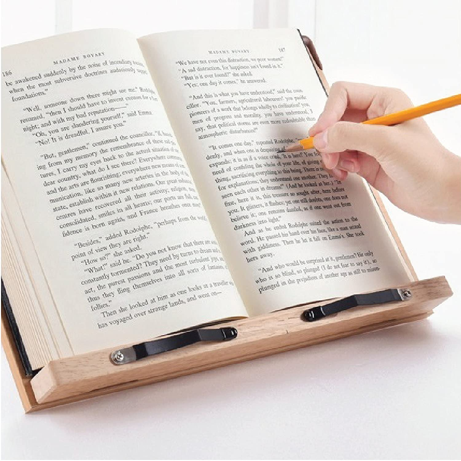 camino bookstands basic type study reading desk