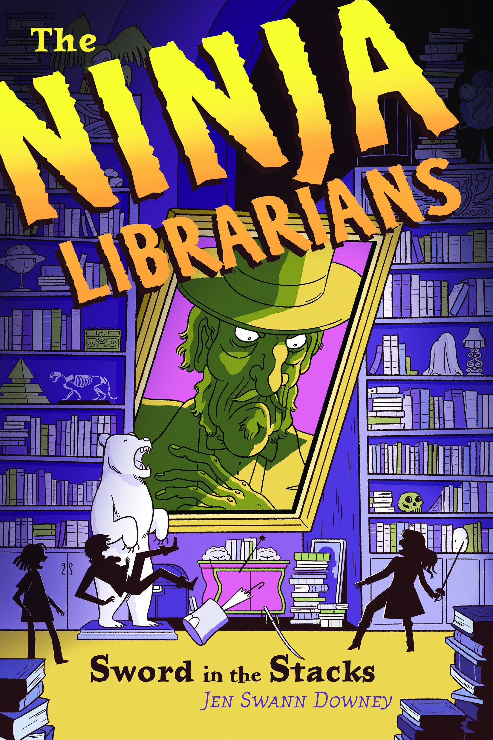 Ninja Librarians: Sword in the Stacks [Idioma Inglés ...