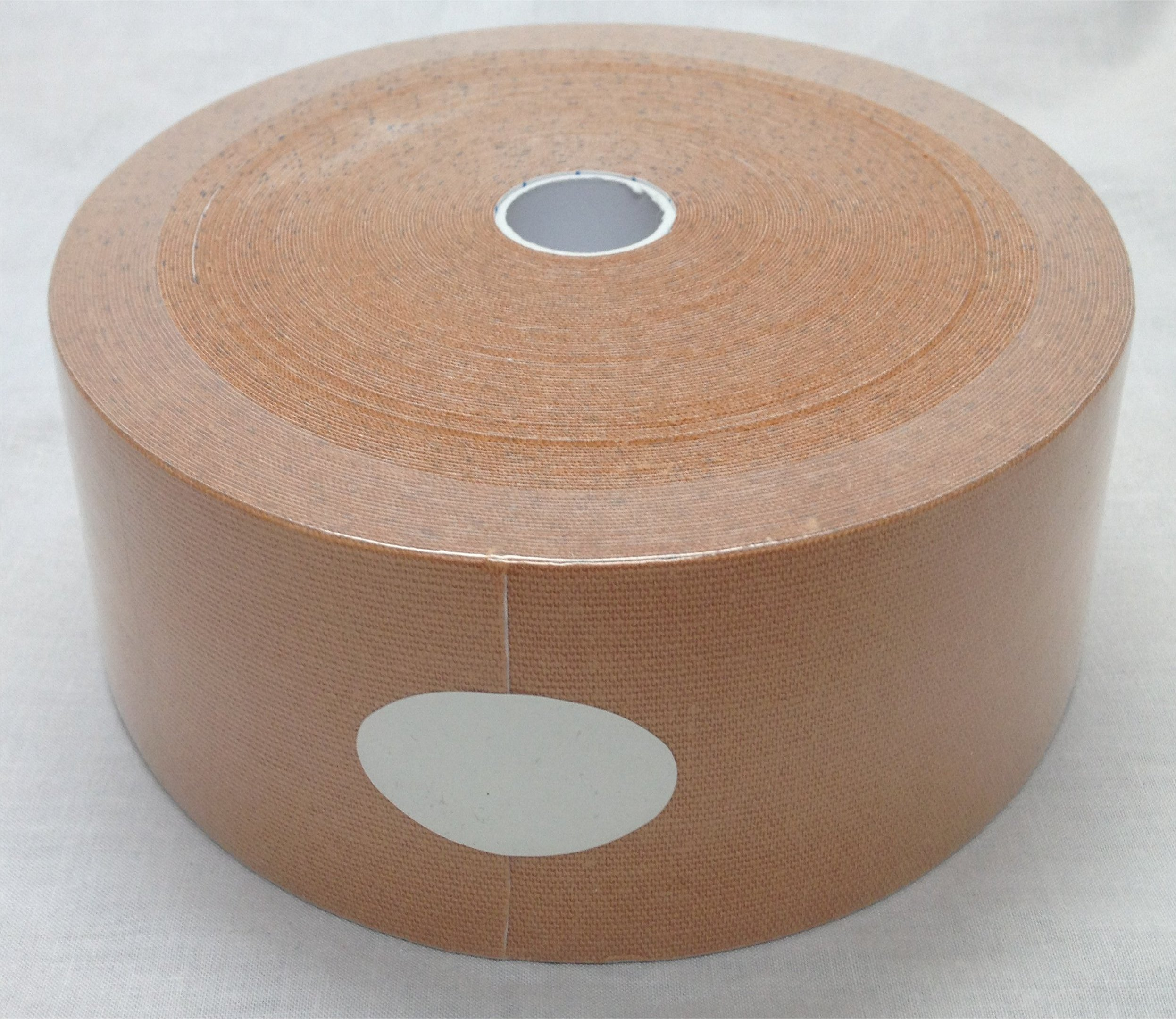 Therapist's Choice® Extra Wide Kinesiology Tape 3'' x105' Bulk Roll (Beige)