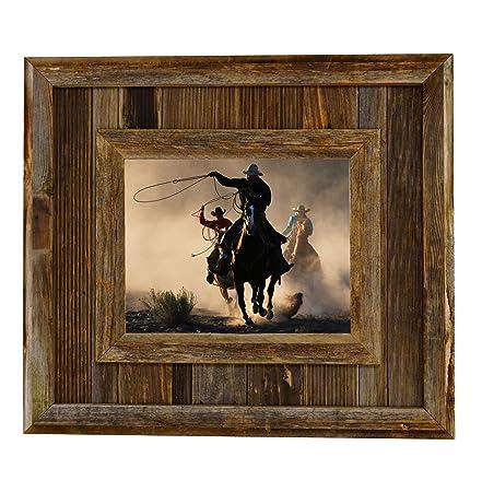 Amazon.com   My Barnwood Frames   Durango Reclaimed Barnwood 8x10
