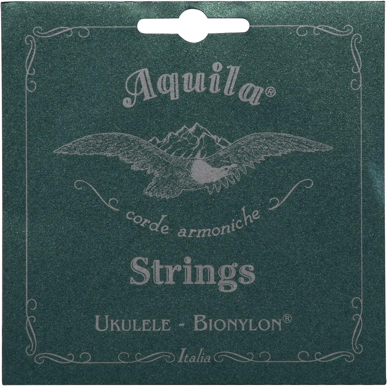 Set of 4 High G Aquila Bionylon AQ-57 Soprano Ukulele Strings