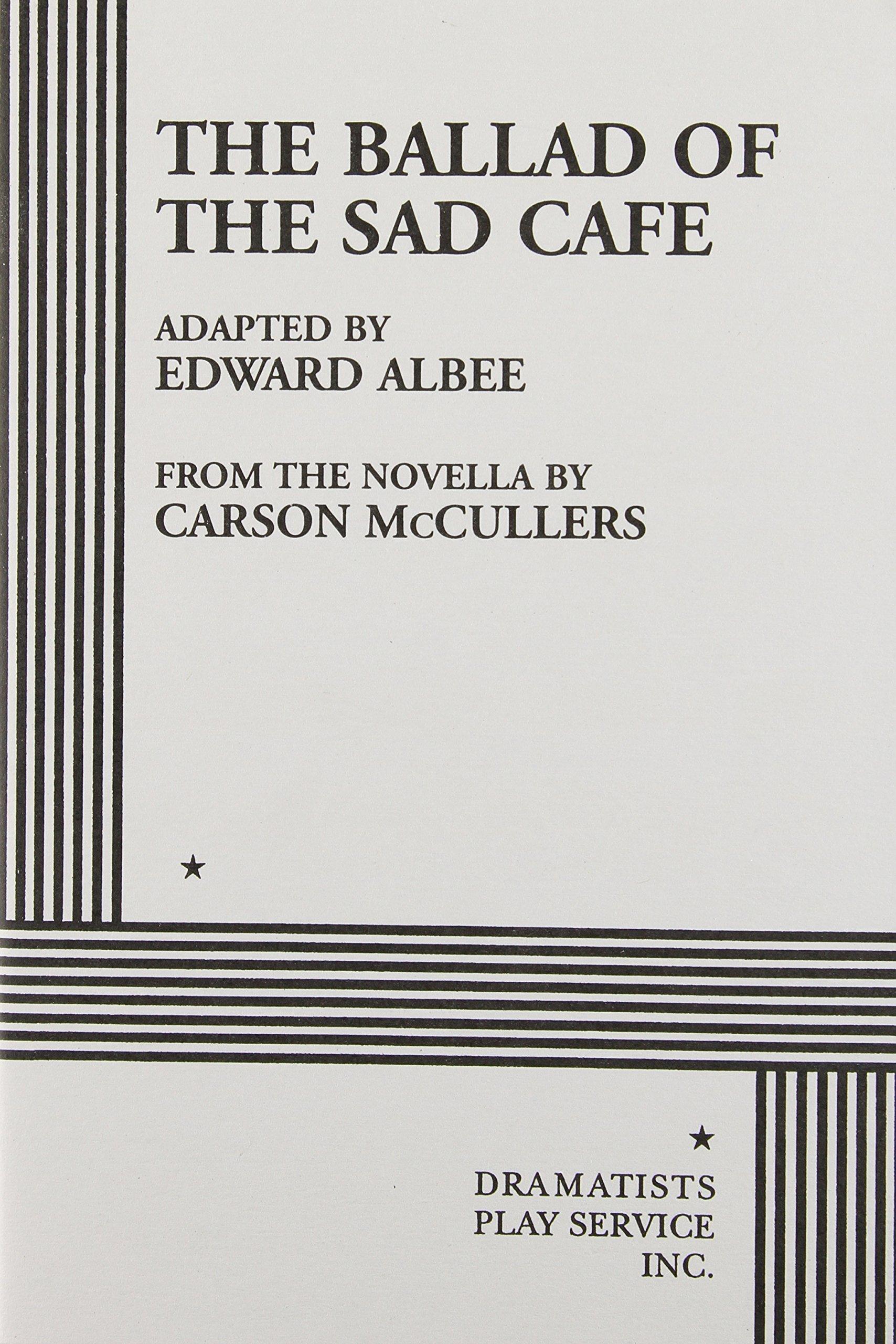 Ballad Of The Sad Cafe Pdf