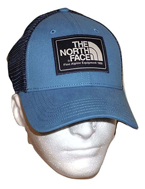 Image Unavailable. Image not available for. Color  The North Face Mens Mudder  Trucker Hat Blue 1fa70b7303ff