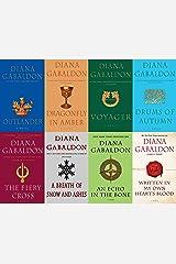 Diana Gabaldon Outlander Series 8 Book Set (1- 8) Mass Market Paperback