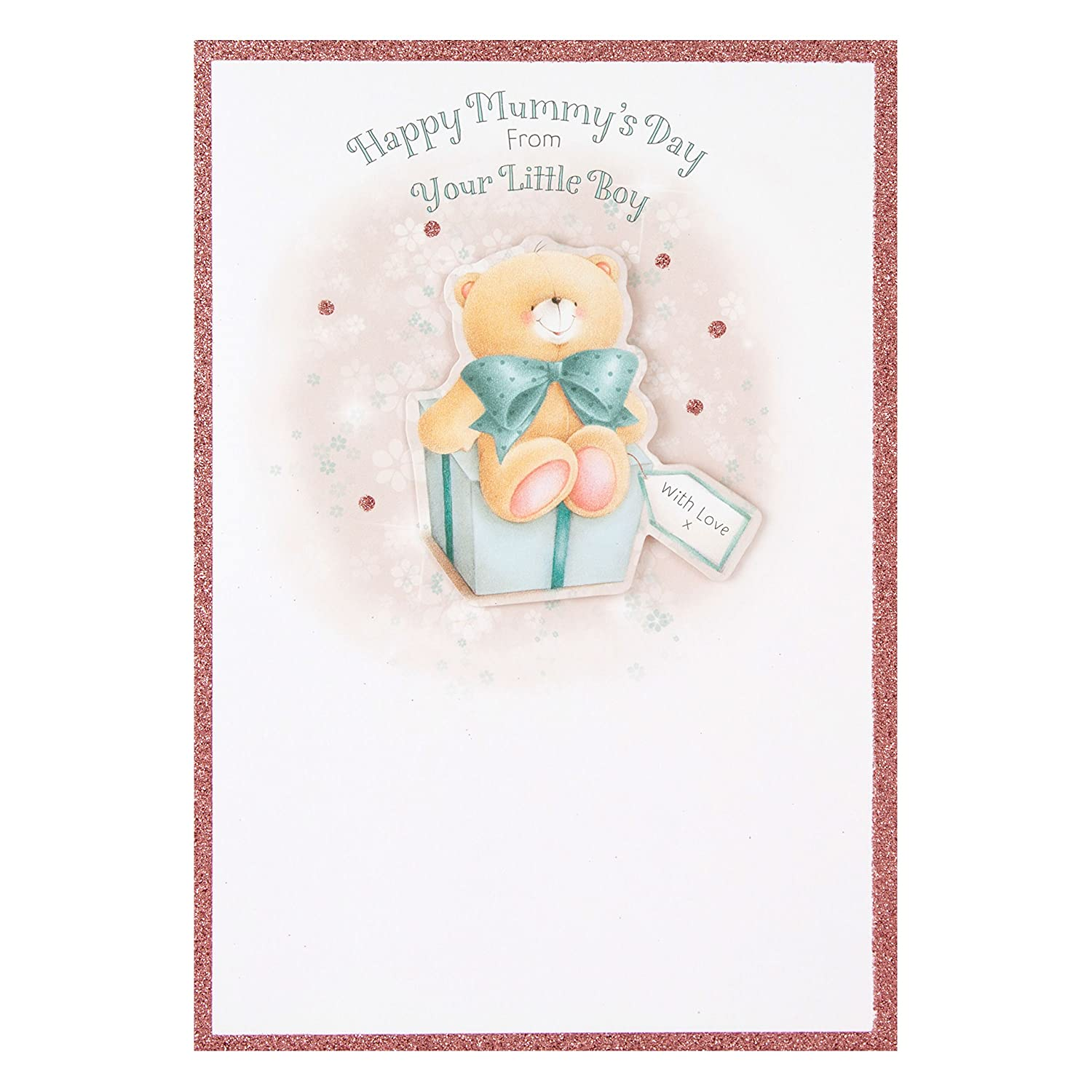 Hallmark Mother's Day Card 'Mummy Cute Forever Friends 3D Illustrated' - Medium 11446569