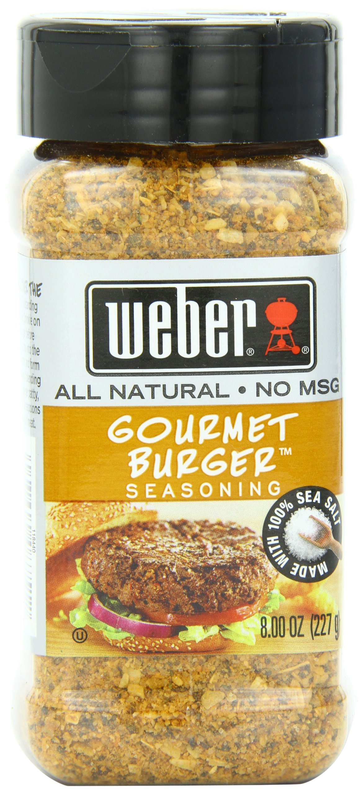 Weber Seasoning, Gourmet Burger, 8 Ounce