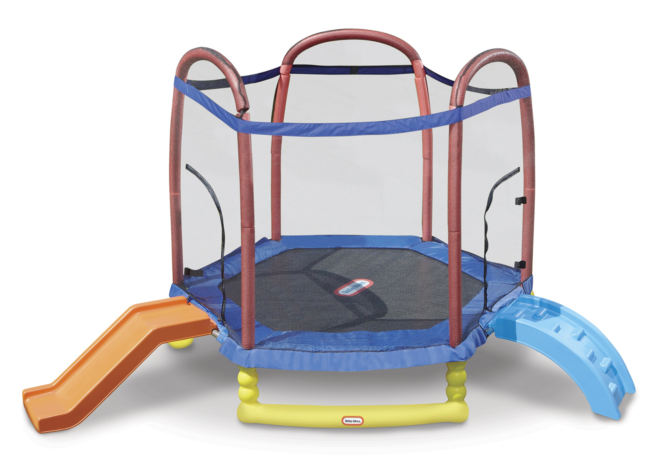 Little Tikes 7' Climb 'N Slide Trampoline by Little Tikes