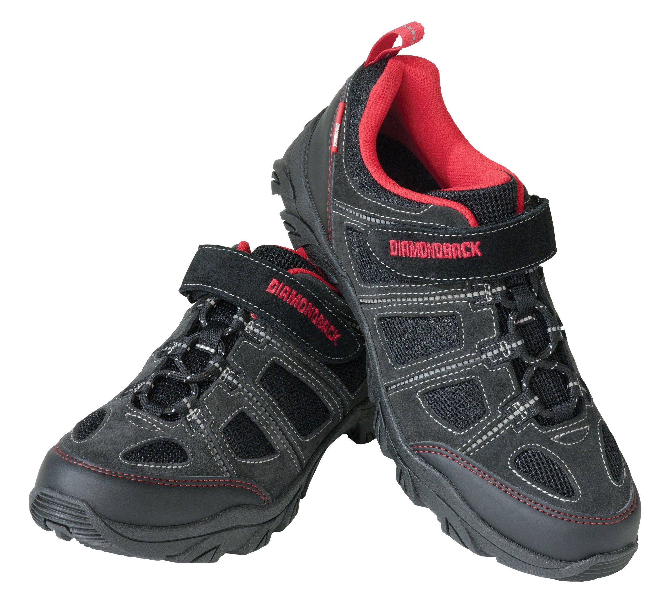 Diamondback Men's Trace Clipless Pedal Compatible Cycling Shoe, Size 45 EU/11-11.5 US by Diamondback
