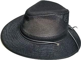product image for Henschel Hats Aussie Breezer 5310 Cotton Mesh Hat, Boxed (Black, Medium Boxed)