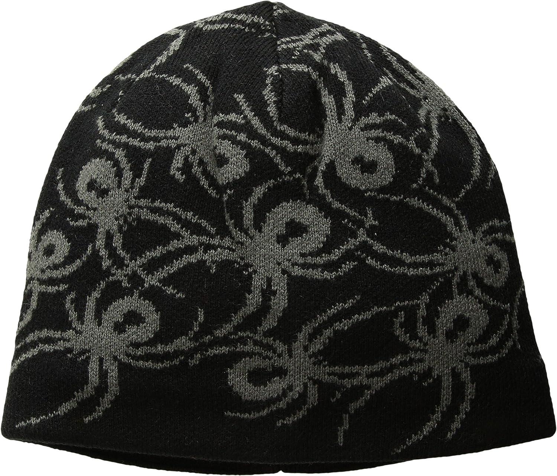 Toddler//Little Kids//Big Kids Black//Polar One Size Spyder Baby Boys Mini Bugs Hat