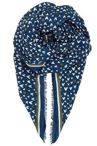 Becksöndergaard - Bufanda - para mujer Azul Medieval Blue Talla única