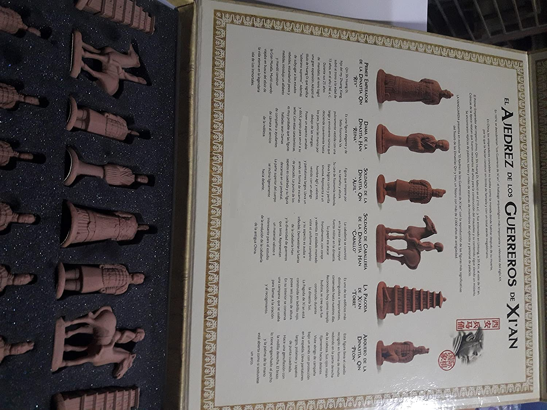 Ajedrez de los guerreros de XiAn, Terracota Coleccionismo: Amazon.es: Juguetes y juegos