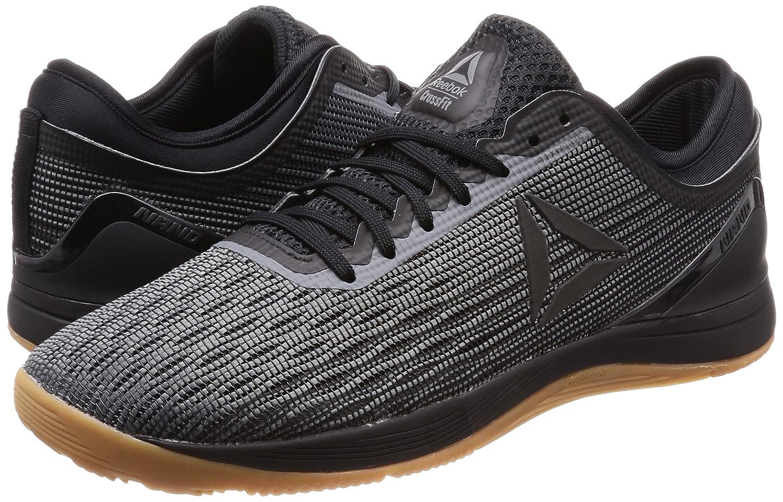 Reebok Crossfit Nano 8.0, Zapatillas de Cross para Hombre, Schwarz (Black/Alloy/Gum 0), EU: Amazon.es: Zapatos y complementos