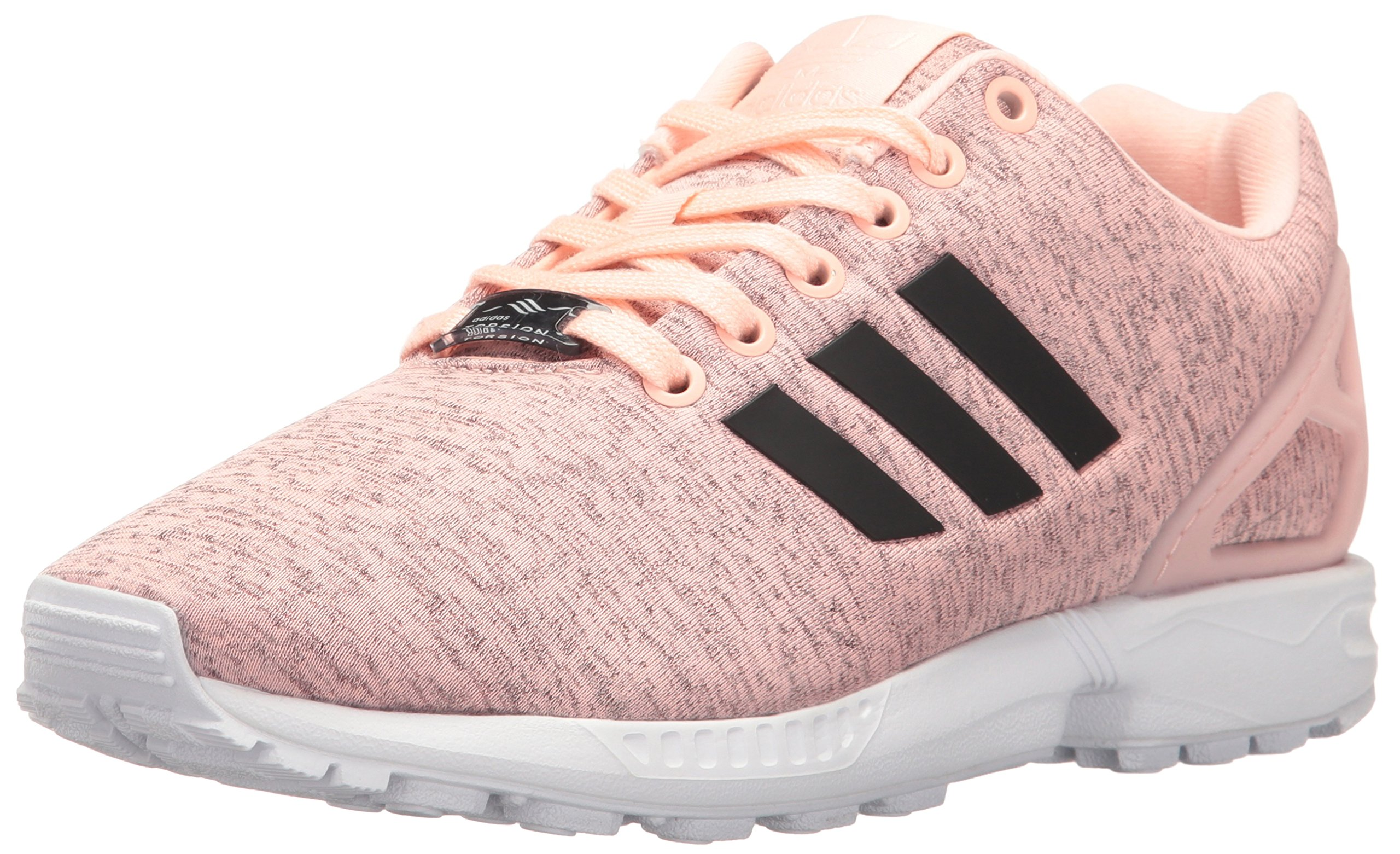 shopping 100% genuine best sneakers adidas Originals Women's Shoes | Zx Flux Sneakers, Haze Coral Black/White,  ((9 M US)