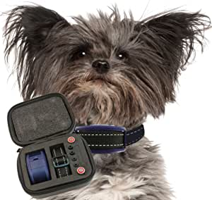 Our K9 Royal Dog No Bark Collar - Anti Bark Vibration Control - 7 Levels Button Adjustable Sensitivity Control - Warning Beep Then Vibration for 15-120 lb. Dogs - Low Battery Alarm