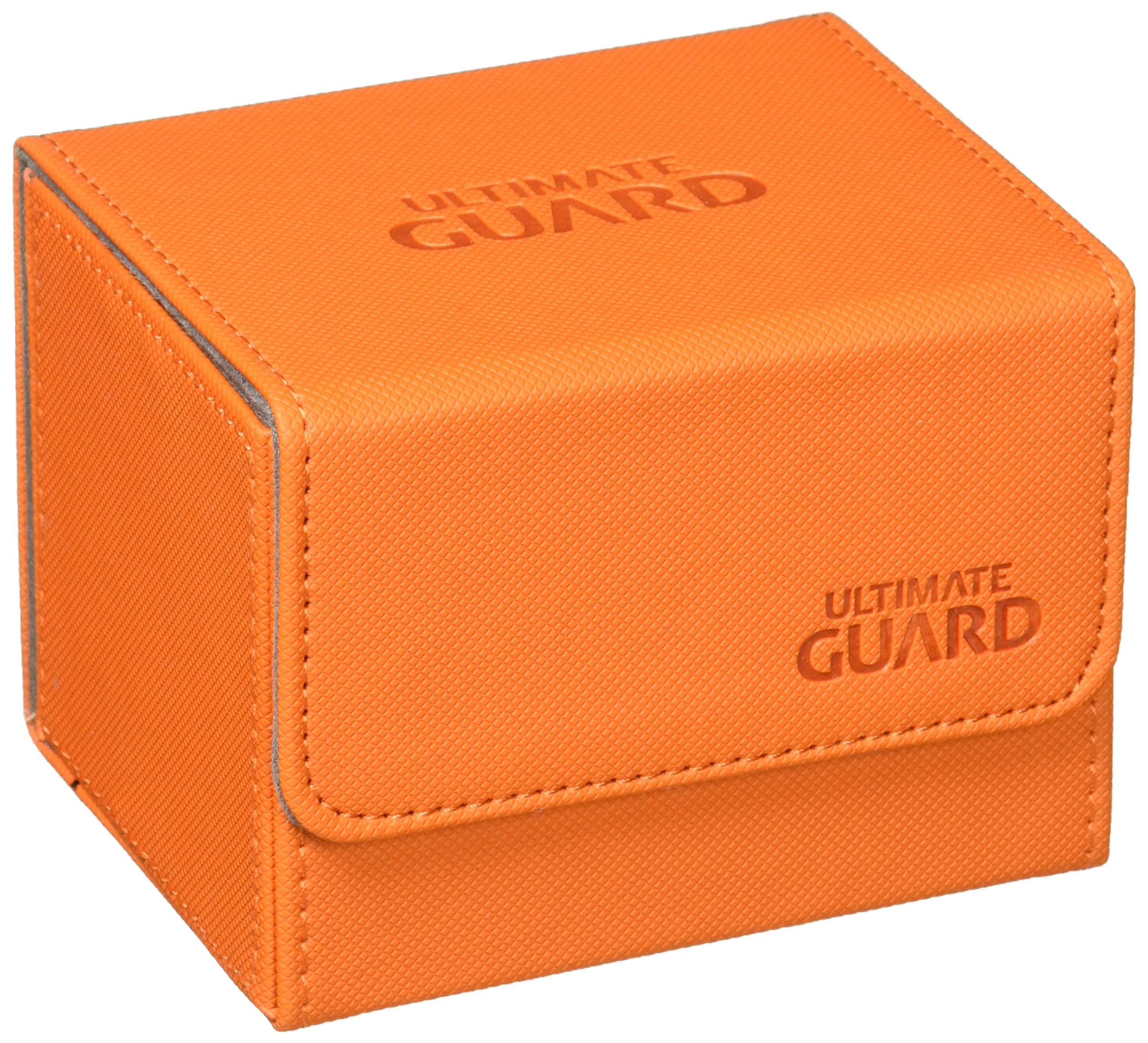 Ultimate Guard - Deck Box: Sidewinder Xenoskin 100+ Orange Toy by Ultimate Guard