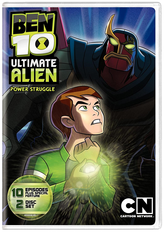 Amazon Cartoon Network Classic Ben 10 Ultimate Alien Power Struggle V2 Glen Murakami Movies TV