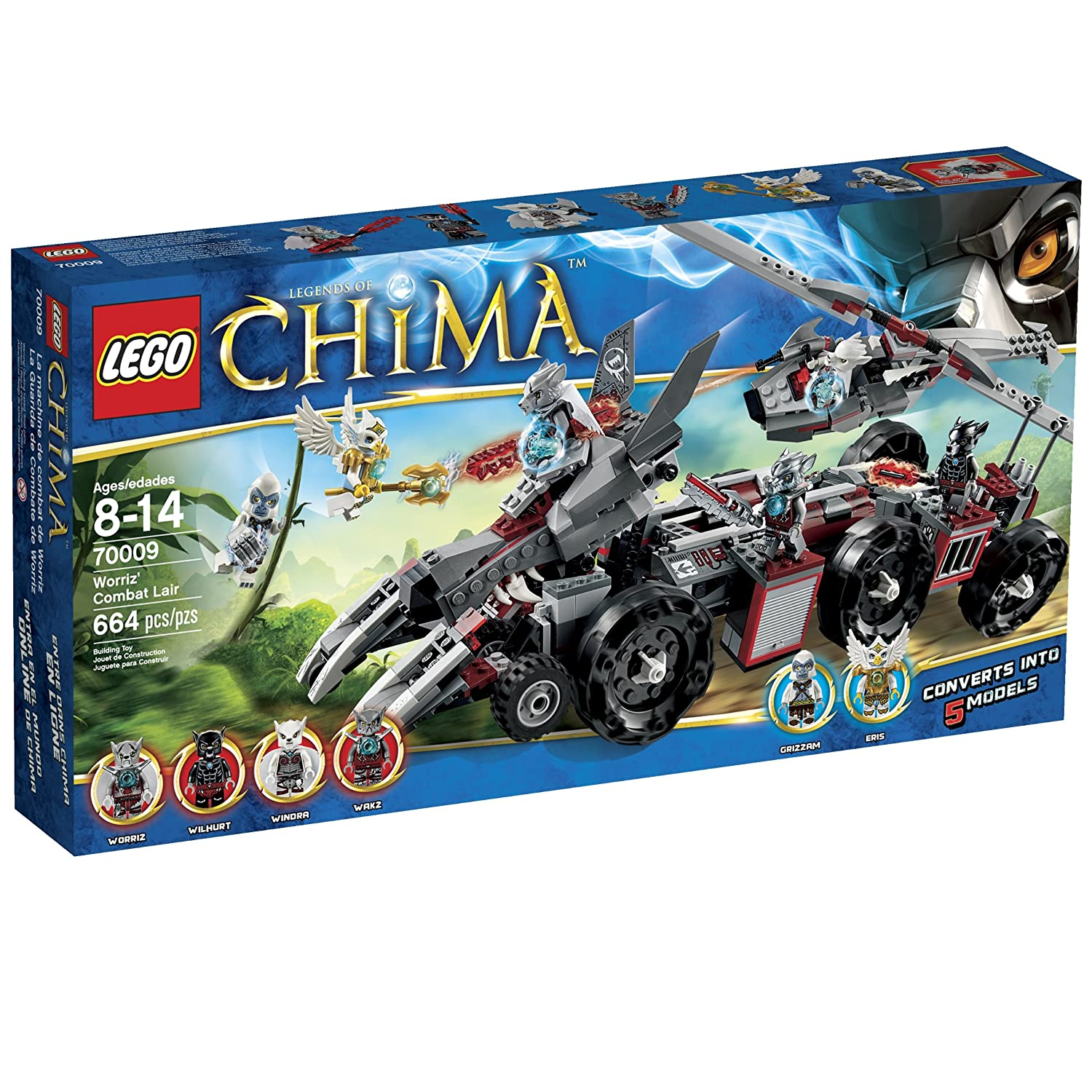 Top 9 Best LEGO Chima Sets Reviews in 2020 8