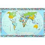 VELOFLEX 4671000 - Mapa educativo, multicolor