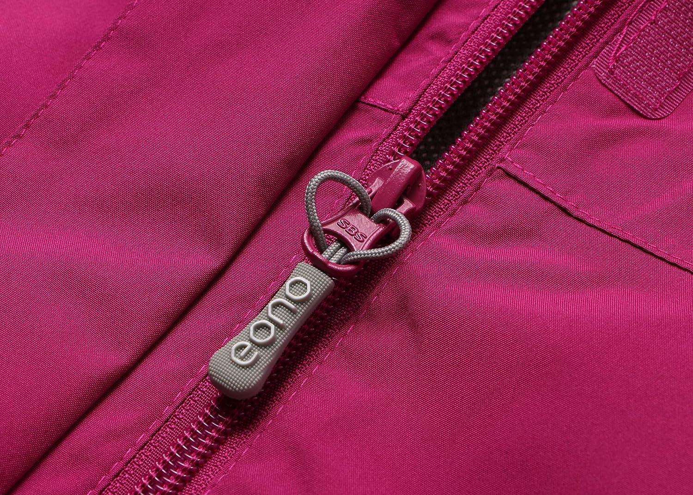 Eono Essentials Chaqueta impermeable de entretiempo para mujer