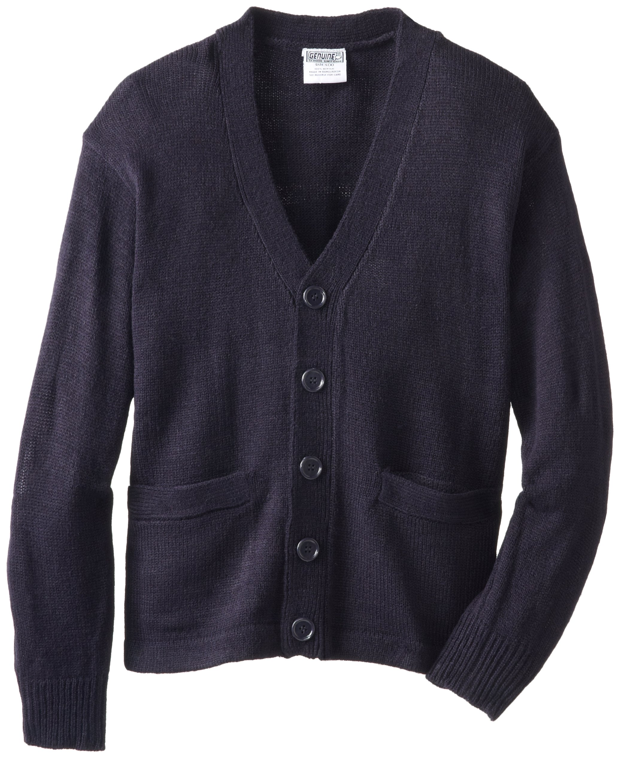 Genuine Boys' Sweater (More Styles Available), Classic Navy, 8