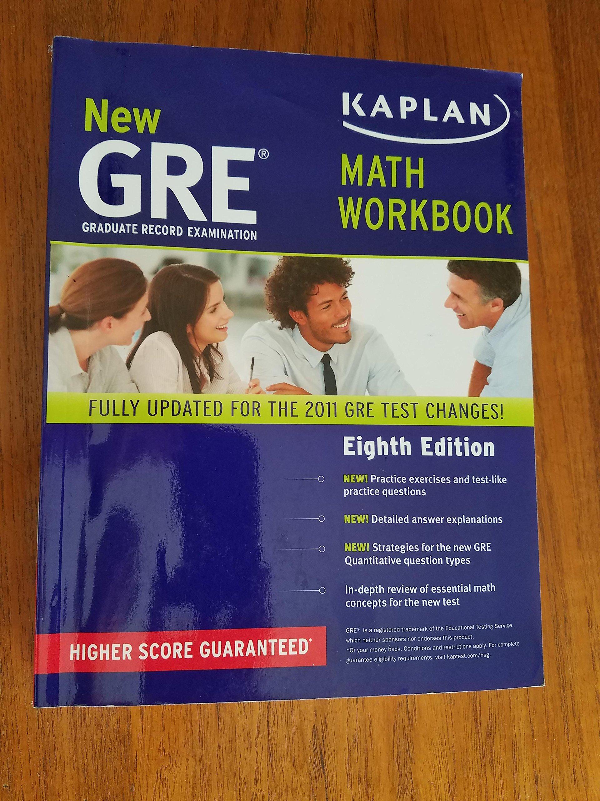 Kaplan Gre Work Book