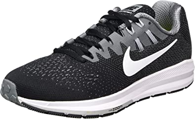 Nike Air Zoom Structure 20, Zapatillas de Trail Running para Hombre, Negro (Black/White/Cool Grey/Wolf Grey), 38.5 EU: Amazon.es: Zapatos y complementos