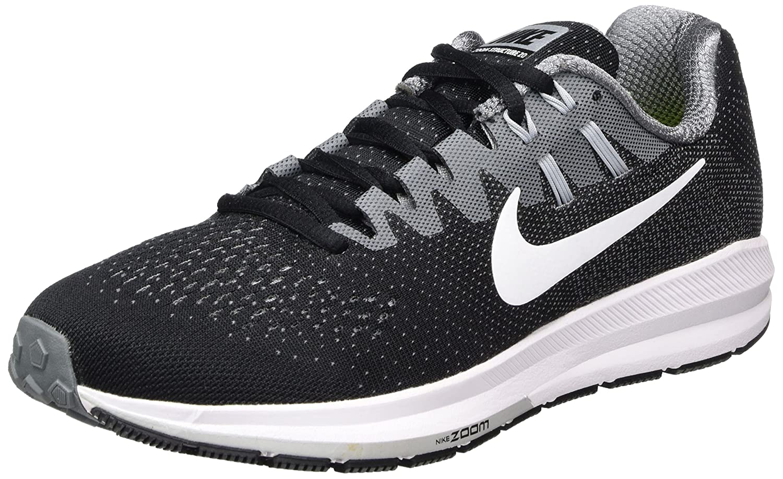 Schwarz(schwarz Weiß Cool grau Wolf grau 003) Nike Herren Air Zoom Structure 20 Laufschuhe