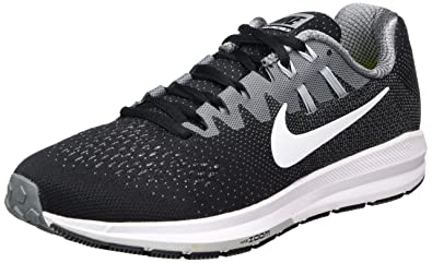 Nike Air Zoom Structure 20, Chaussures de Trail Homme, Noir (Black/White/Cool Grey/Wolf Grey 003), 47 EU