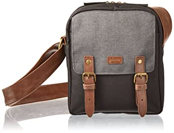 caseable shoulder travel bag for Kindle  in maroon / grey