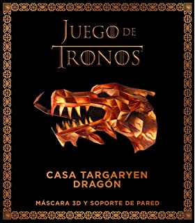 Juego de Tronos. Casa Stark: lobo huargo: Máscara 3D y soporte de pared Series y Películas: Amazon.es: AA. VV., Martínez, Juan Pascual: Libros