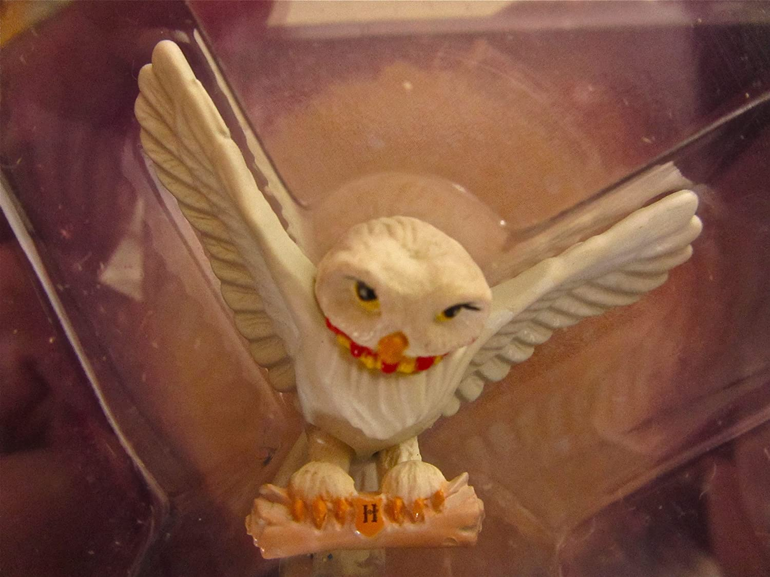 HEDWIG Harry Potter Die-Cast Figure Harrys Owl with Collectible Storage Book