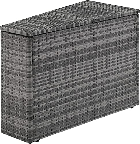 Crosley Furniture CO7210-GY Catalina Outdoor Wicker Arm Table