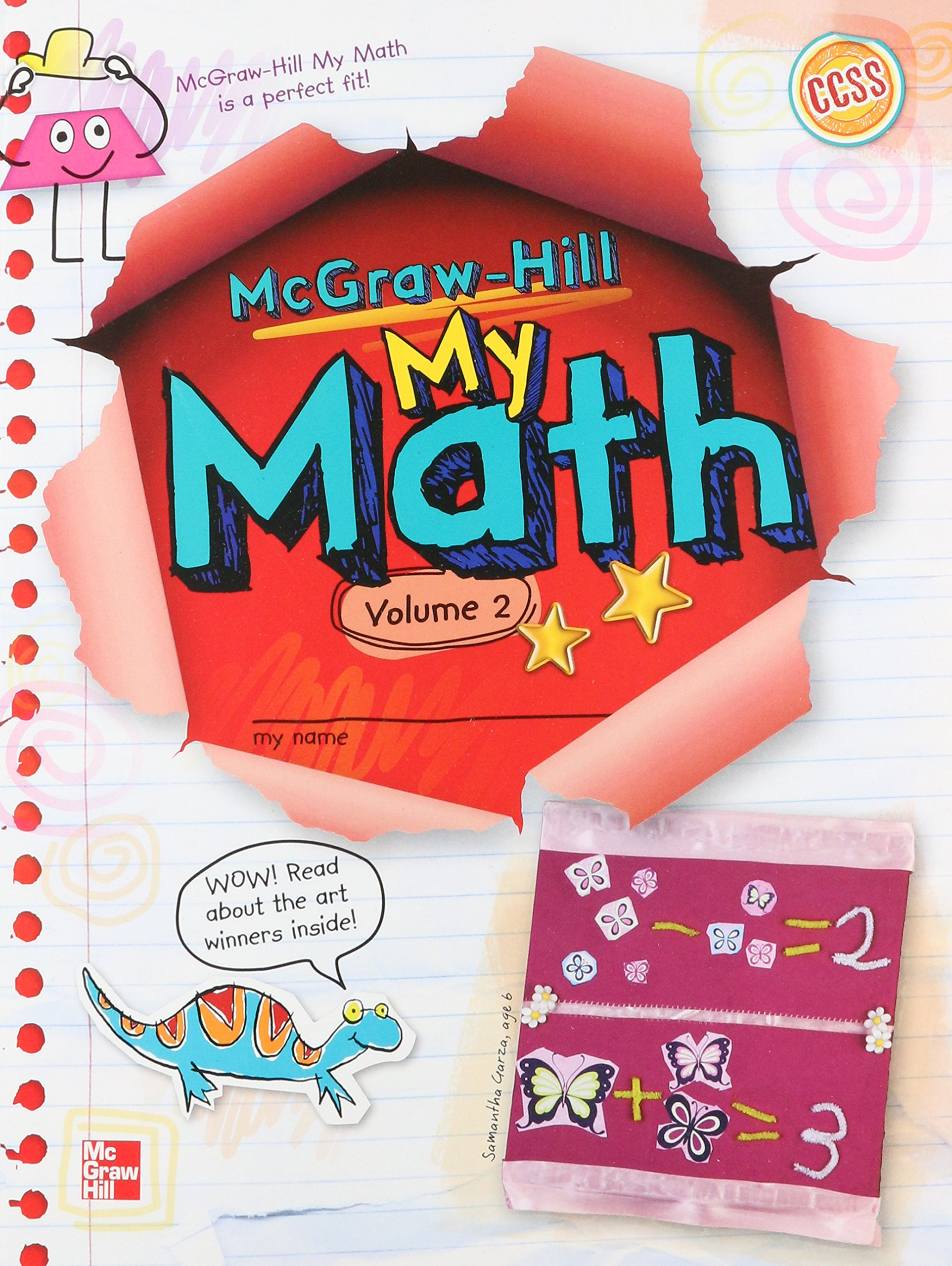 mcgrawhill my math grade  student edition volume  elementary  mcgrawhill my math grade  student edition volume  elementary math  connects amazoncouk mcgraw hill education  books