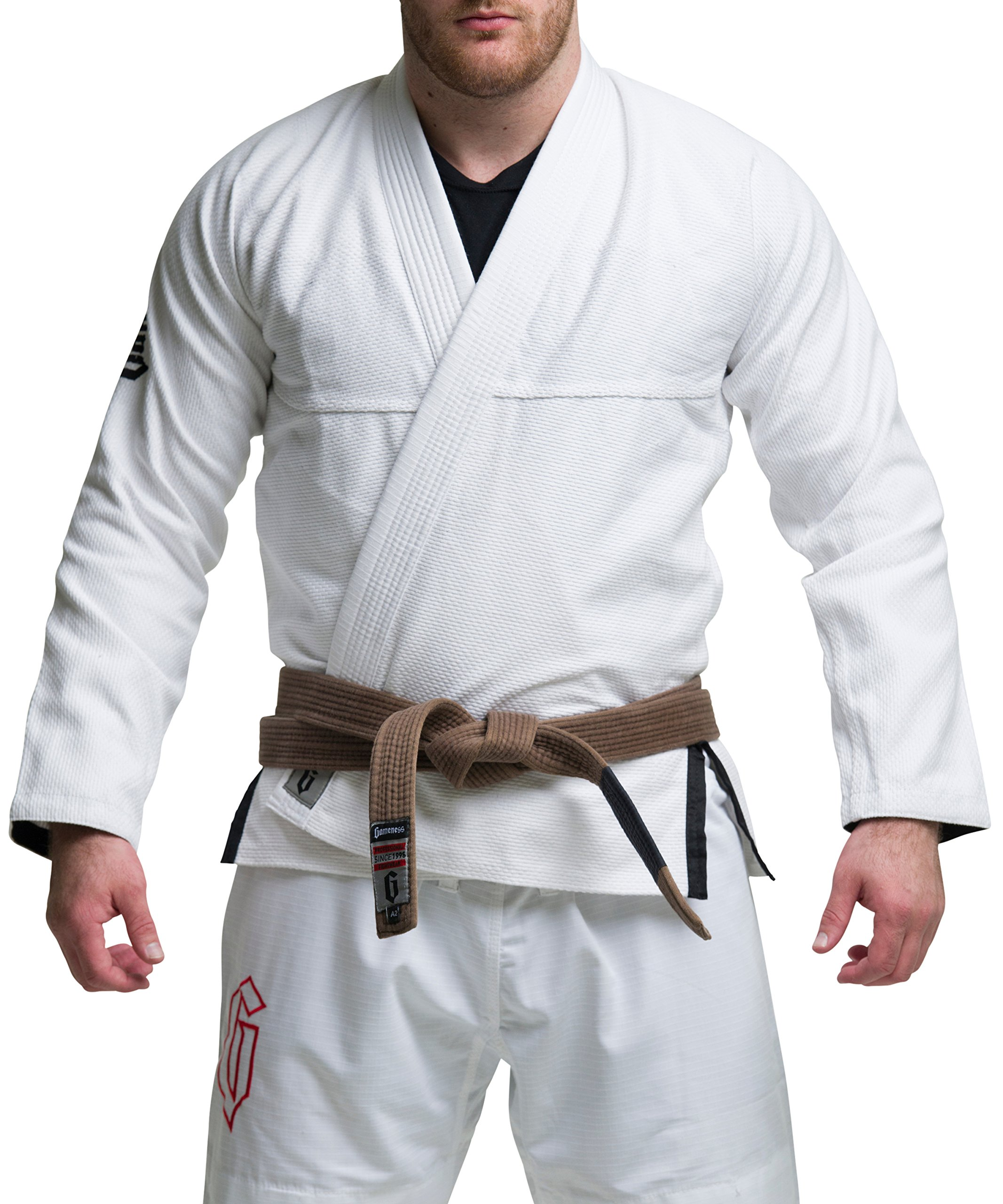 Gameness Jiu Jitsu Air Gi White A1 by Gameness