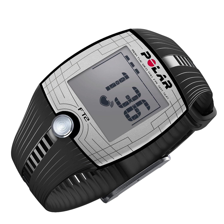 amazon com polar ft1 heart rate monitor black sports outdoors