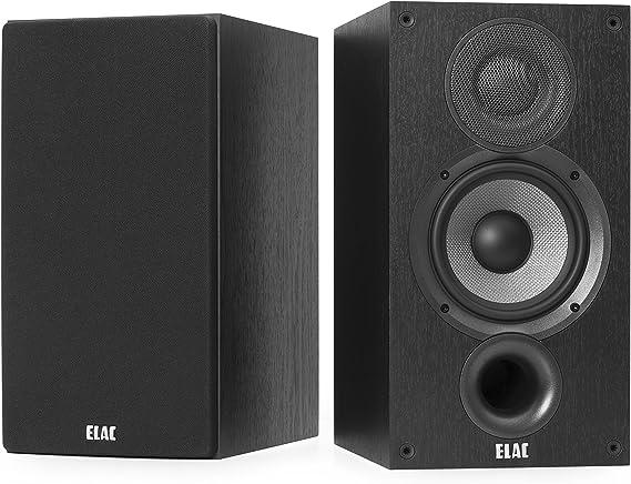 Elac Debut b5.2–Altavoz de estantería Negro Decoración