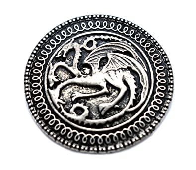 Targaryen Dragon Badge Brooch Song Of Ice And Fire Game Of Thrones Pin   Amazon.co.uk  Jewellery 1153312d3775