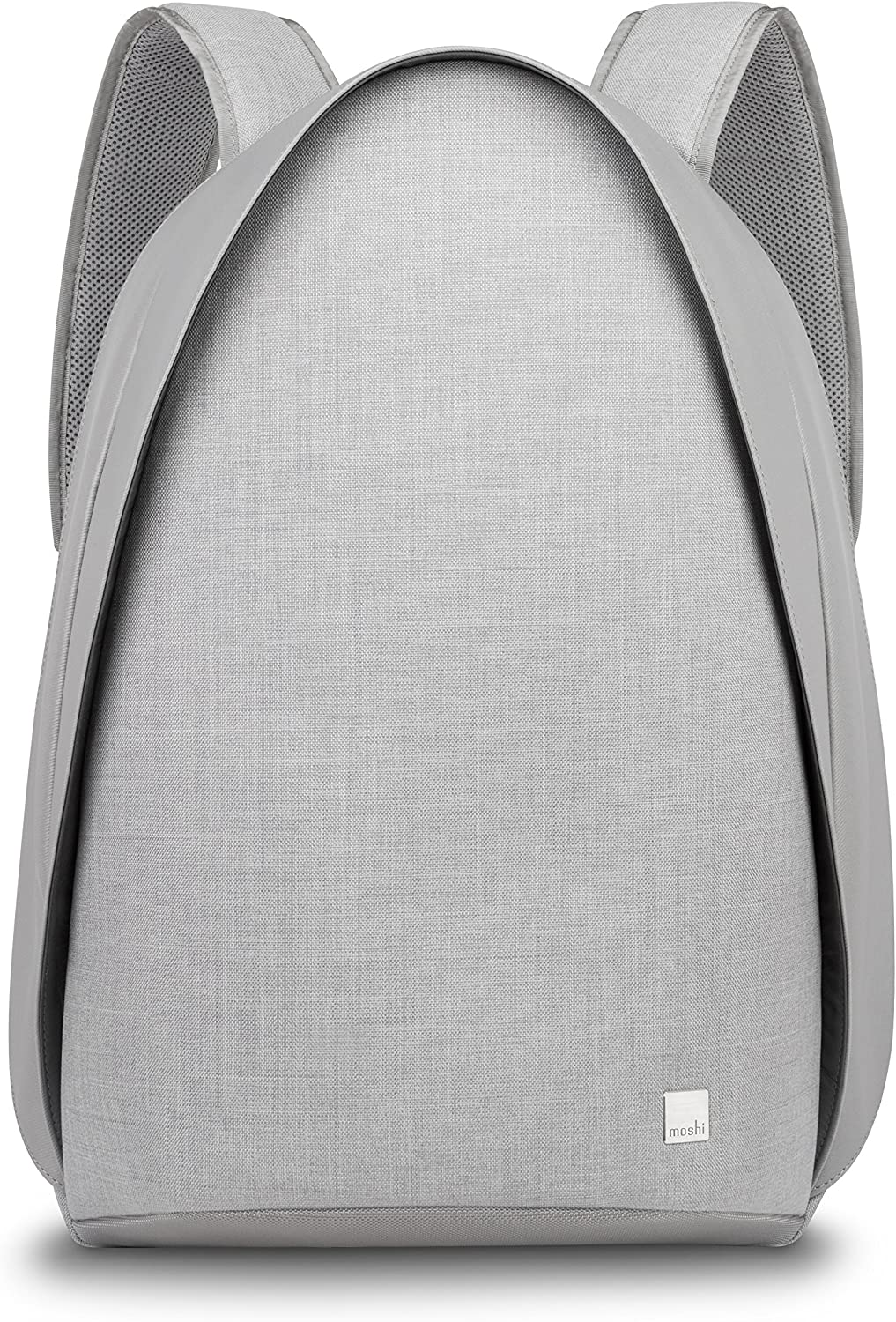 Moshi 99MO110261 Tego Anti-Theft Backpack with USB Charging Port, Water Resistant, Stone Gray
