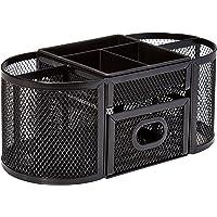 AmazonBasics DSN-02950 Mesh Desk Organizer (Black)