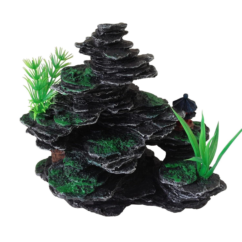 Aquarium Fish Tank Ornament Decoration Small Rocks with Plastic