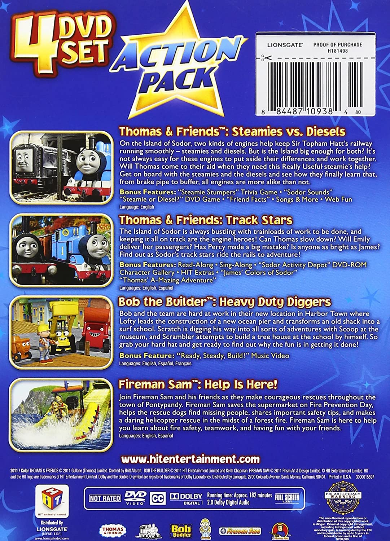 Hit Favorites: Action 4-Pack [Reino Unido] [DVD]: Amazon.es: Cine y Series TV