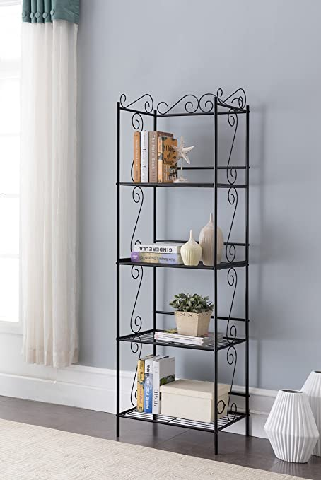 ladder book bookshelf unit standing display free folding ebay shelves bhp tier shelf shelving stand